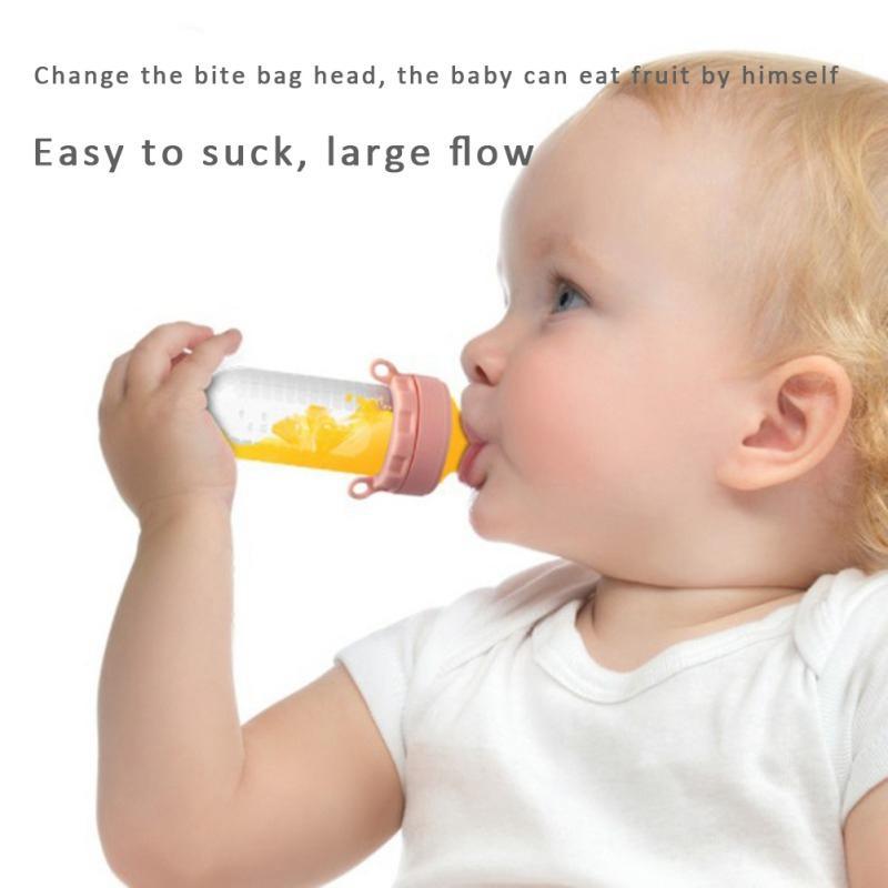 لوازم آمنة سيليكون الحلمة الطفل الفاكهة الطازجة هوة الطاعم تغذية الاطفال الطفل الكرتون هوة