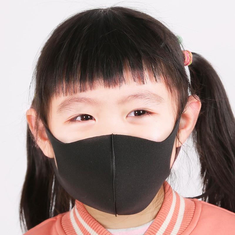 3pcs / Lot Children spugna Bocca della copertura della mascherina PM2.5 maschere antipolvere Haze bocca maschera di protezione bambini respiratore maschere riutilizzabili Ragazzi Ragazze maschere Hot