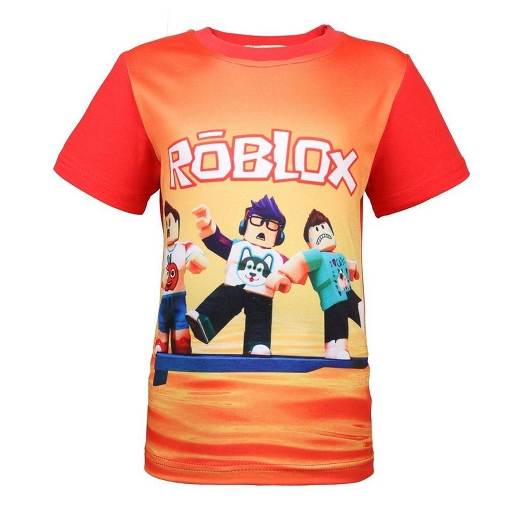2020 2018 Summer Boys T Shirt Roblox Stardust Ethical Cartoon T