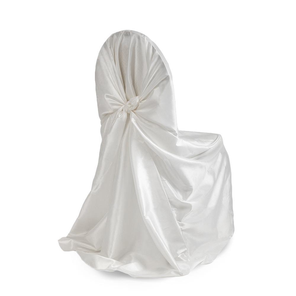 Universal Satin Wedding Chair Covers 10 PCS/Lot DIY Chair Sashes for Weddings Fabrics Banquet Hotel Decoration Decor