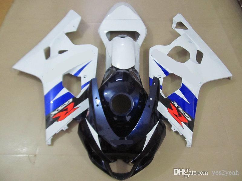 Injection Fairing Bodykit für SUZUKI GSXR600 750 04 05 GSXR 600 GSXR 750 K4 2004 2005 Volltankabdeckung Fairings Karosserie + Geschenke