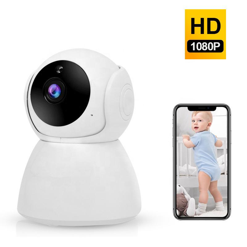 1080P 3MP Wifi IP Camera d'inseguimento auto di IR di visione notturna di sicurezza domestica dell'interno mini audio baby monitor CCTV IP Camera