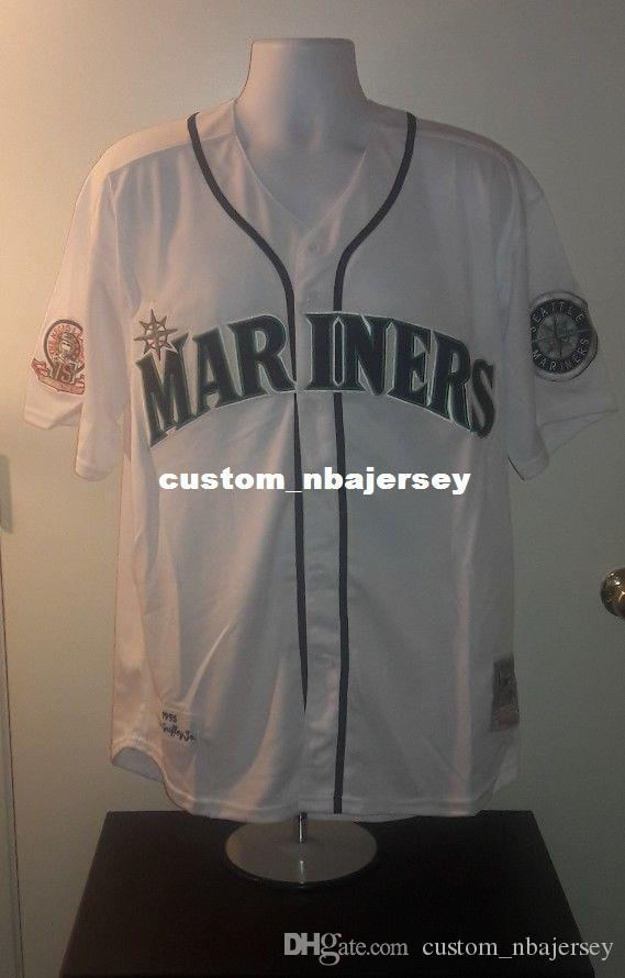 cheap custom griffey jr 1995 Retro Jersey Stitched Customize any number name MEN WOMEN YOUTH XS-5XL