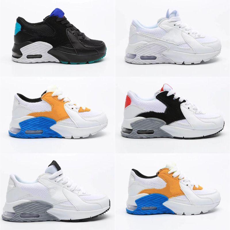 Nike air max 90 2020 Çocuk Sneakers Çocuklar Spor V3 Ortopedik Gençlik Çocuk eğitmenler Bebek Kız Erkek çalışan bebek ayakkabıları 9 Renkler Boyutu 26-35