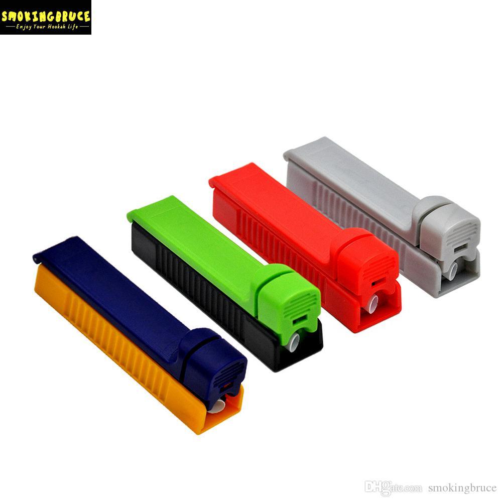 미니 플라스틱 롤링 인젝터 8mm 롤러 인젝터 수동 롤러 담배 제조사 튜브 롤 기계 롤 용지 담배