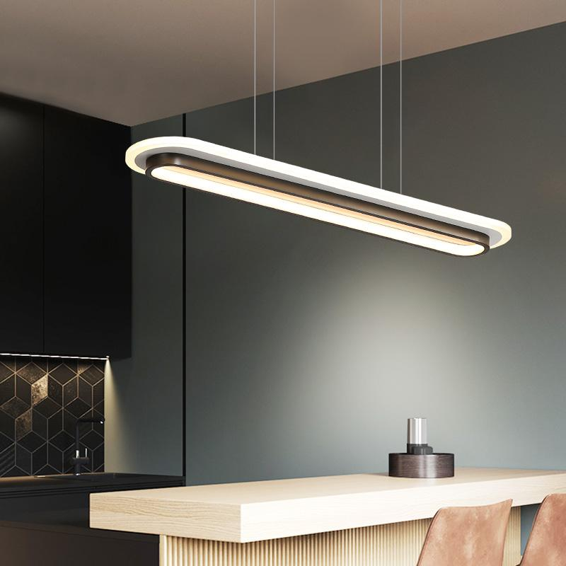 Modern LED Pendant Lights For Office Dining Room Kitchen Bar Acrylic Rectangle Luminaire Pendant Lamp For Home I203 Pendant Track Lighting Vintage Light Fixtures From Ishopcauto, $54.88| DHgate.Com