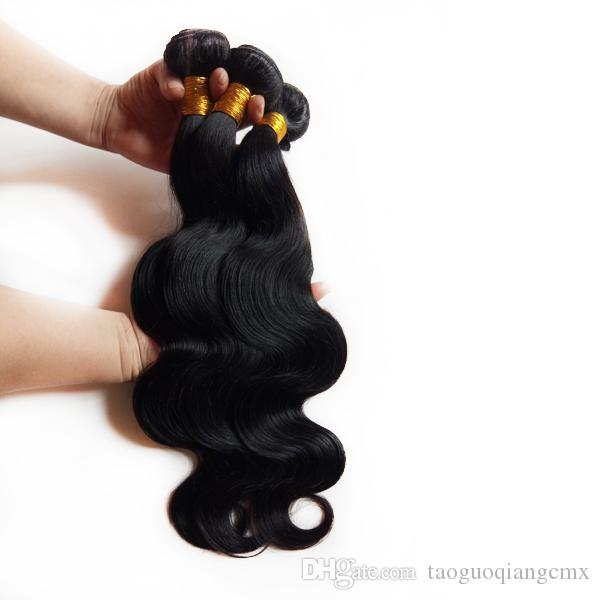 Brazilian Hair unprocessed virgin malaysian body wave hair weft extensions hot sale 8-26inch Natural Color Russian Indian remy human hair