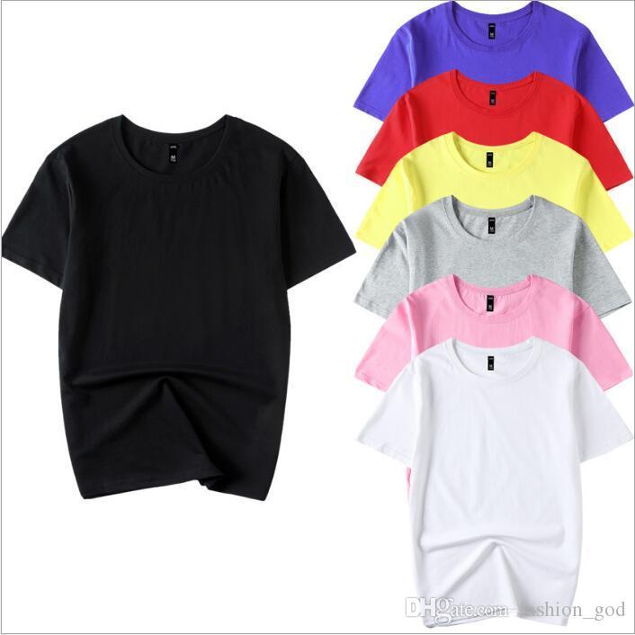 Männer T-shirt Plain Designer Shirts Frauen Sommer Casual Tops Solide Mode Tank Halbe Hülse Unterhemd Elastische Tees Herrenbekleidung B4253