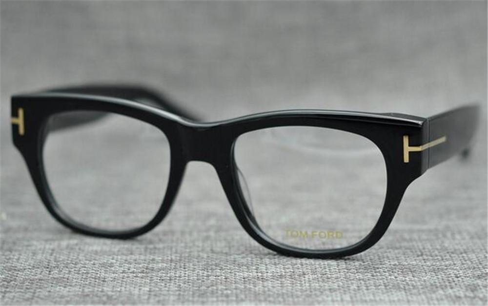TF5040 New Brand Eyewear Design Oversized Glasses Frame Men Steampunk Big Myopia Women Transparent Nerd Spectacles Computer Luxury Glasses