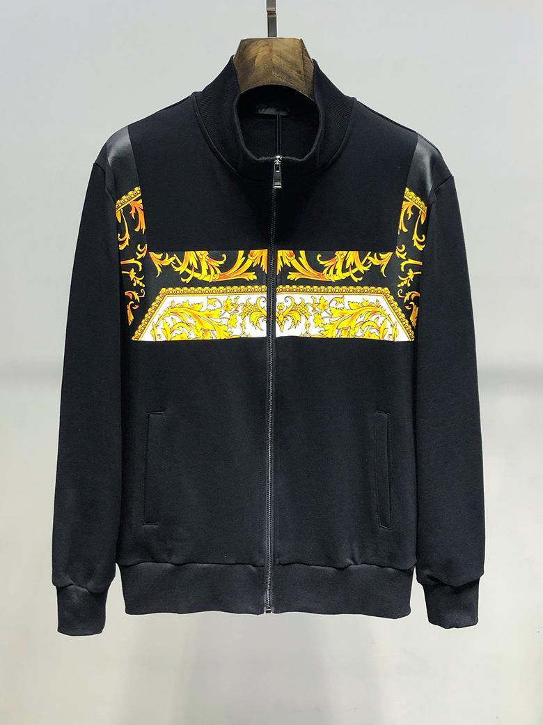 2019 nuevos Mens de la chaqueta de lujo casual abrigos Streetwear hombres de la ropa de moda de la chaqueta de los hombres Imprimir cremallera chaqueta de vestir exteriores caliente de la venta del tamaño M-3XL