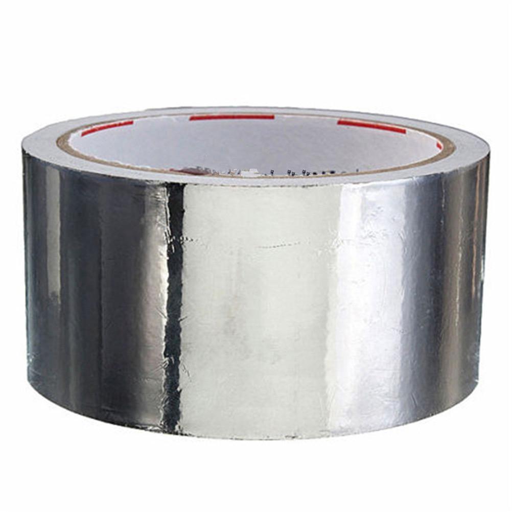 ome Amélioration de * 17m feuille d'aluminium utile adhésif d'étanchéité Ruban thermique Resist Réparations conduits à haute température résistant Foil adhésif ...