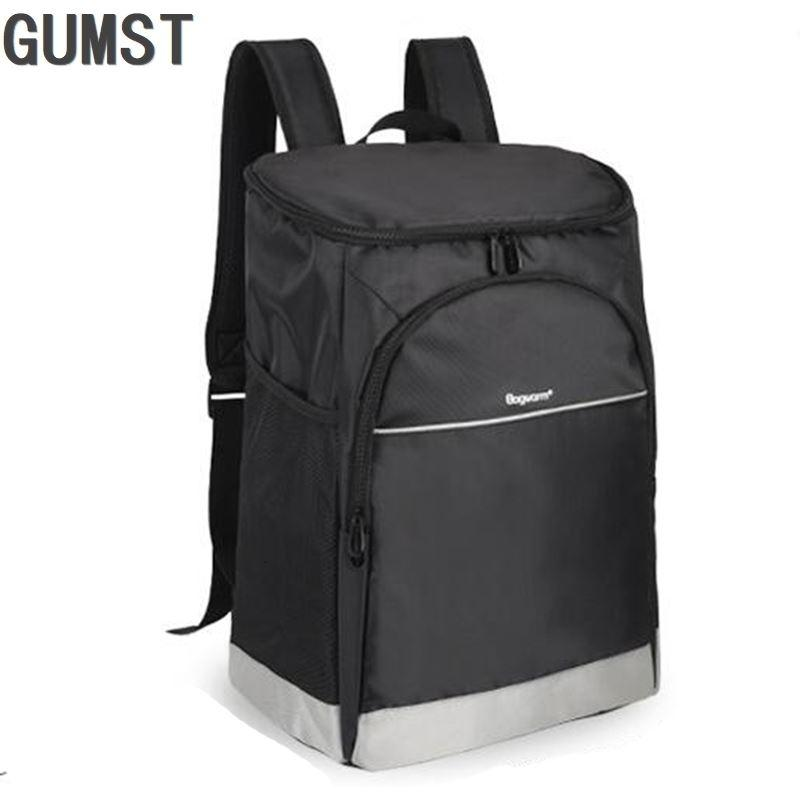 Oxford backpack cooler bag thermo lunch picnic box insulated cool ice pack car fresh Food delivery thermal bags refrigerator SH190923