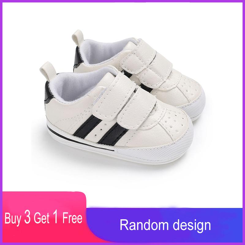 Spring Autumn Newborn Infant First Walkers Little Girls Boys Children's Canvas Shoes Casual Soft Shallow Kids Toddler Baby Flats