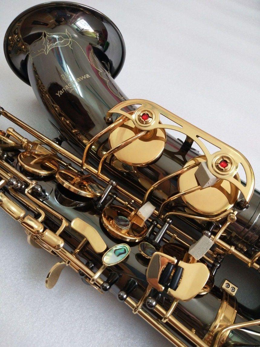 العلامة التجارية الجديدة تينور ساكس ياناجيساوا T-991 تينور ساكسفون آلات موسيقية ب ب لهجة النيكل الأسود الذهب أنبوب الذهب مفتاح ساكس مع حالة لسان الحال