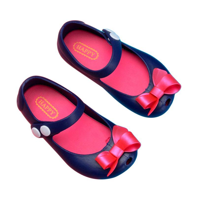 2020 아기 여름 신발 어린이 유아 미끄럼 방지 신발 플라스틱 활 버클 젤리 베이비 여자 아이 공주 샌들