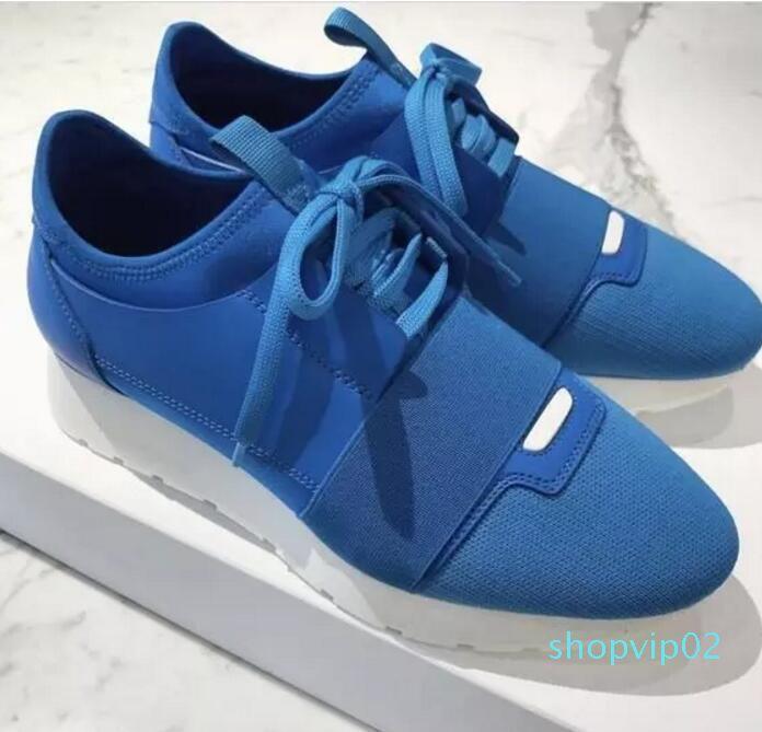 New 2,020 Popular Designer da mulher Man Alta Qualidade Moda Low Cut Lace Up respirável malha sapatilha Ao Ar Livre Corrida Runner Shoe Casual