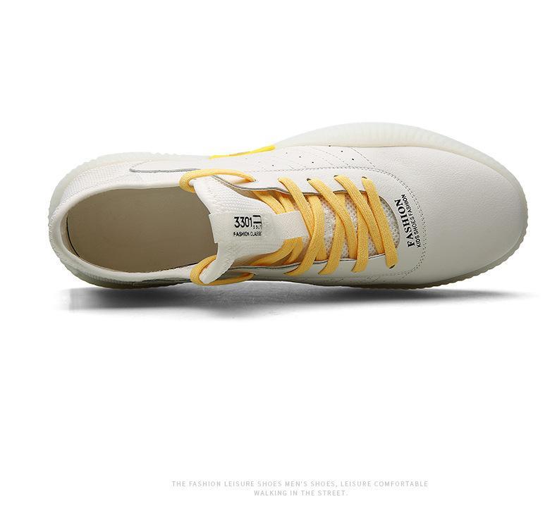 chaussures automne 2019 chaussures de sport nouveau sport de femmes en cuir chaussures coréenne du conseil des femmes automne nouvelles baskets faible glissement mode Corée