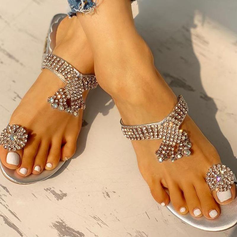 SARAIRIS fretwork tacchi per il tempo libero fretwork delle donne sandalo comodo di Modo di Estate Scarpe FlipFlops scarpe pantofole