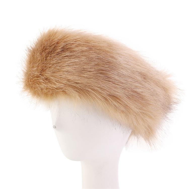 7 couleurs des femmes en fausse fourrure d'hiver bandeau femmes luxe wrap tête de mode peluche Earmuffs Cover accessoires pour cheveux en gros AAJY865