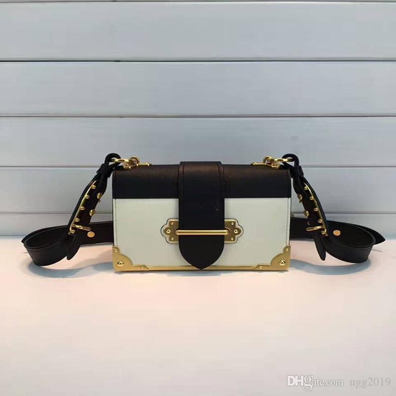 # # 1BD045 bolsos de marca bolsos de hombro de cuero real de las mujeres bolsos del desinger Desinger bolsa de lujo de lujo bolsas