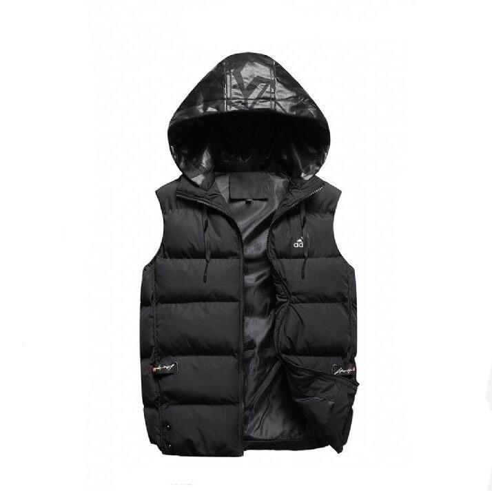 Toptan Erkekler dış giyim kış yelek tüy tasarım ceketler kat aşağı gündelik yelek ceket erkek aşağı yelek