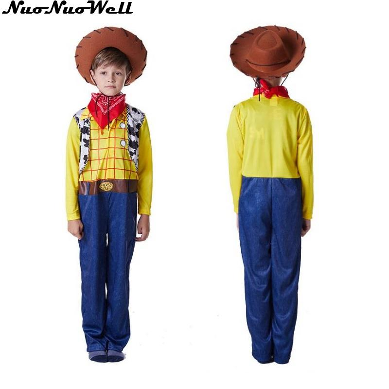 Kids Childrens Child Boys Girls Inflatable Cowboy Fancy Dress Costume Outfit