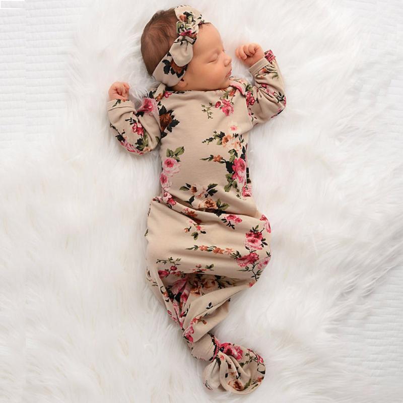 Bambino Swaddle sacco a pelo Swaddle mussola Wrap + Cappello appena nato del bambino delle ragazze del ragazzo Sack multi-uso Coperta involucro infantile del sacco a pelo