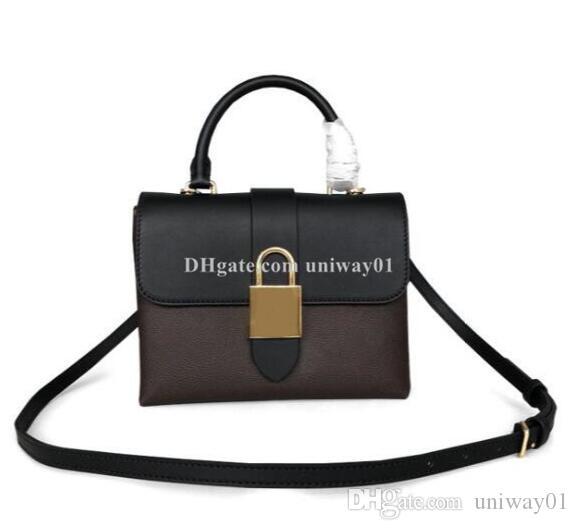 نوعية إمرأة كتف حقيبة حقيبة يد حمل رسول حقيبة جلدية puse العلامة التجارية desginer زهرة الموضة الجديدة الرقم التسلسلي