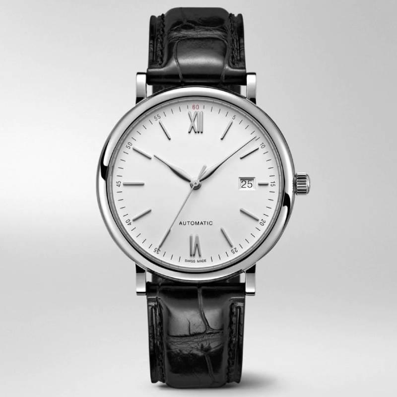 diseñador de relojes de lujo de los hombres relojes automáticos 2836 hombre de la moda Reloj del movimiento del Portofino 40 mm miran el envío libre