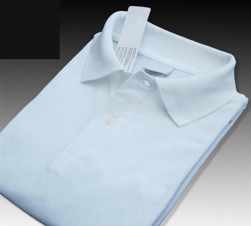 XS-4XL Высокого качества крокодил летом новый мужское короткий рукав рубашка 100% хлопок случайной сплошного цвета menl тройники мода Ьотте