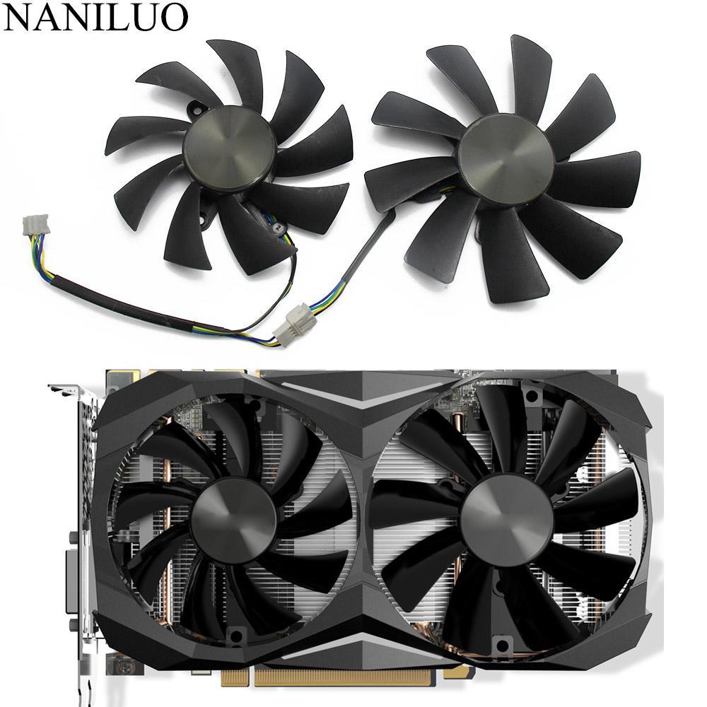 ZOTAC GeForce 1080 GTX 1070 Ti Mini GTX için 87mm GA92S2H 100MM 1070TI Mini 4Pin Cooler soğutma fanı Ucuz Fanlar