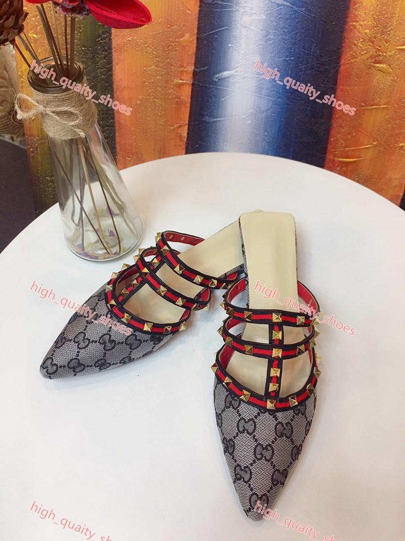 Gucci sandals 2020 Neueste Progettista Pantoffel Gang anstößt Frauen gleiten gestreifte Sandalen Anti-Rutsch-Sommerschuhe Flip-Flops Xshfbcl Großhandel