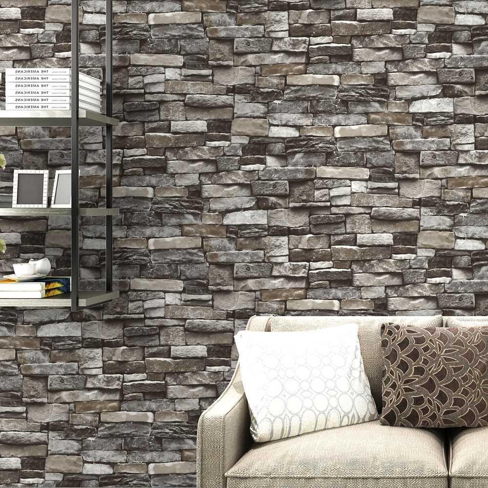 Camera Da Letto Grigia acquista rosso, grigio vintage rustic stone brick wallpaper rotolo  soggiorno camera da letto ristorante sfondo loft 3d wall paper a 16,9 € dal