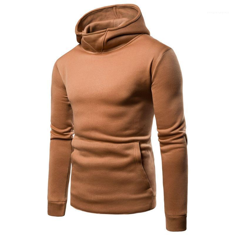 for Hommes Mens Solid Hoodies Spring Autumn Male Casual Sweatshirts Tops Long Sleeved Clothes