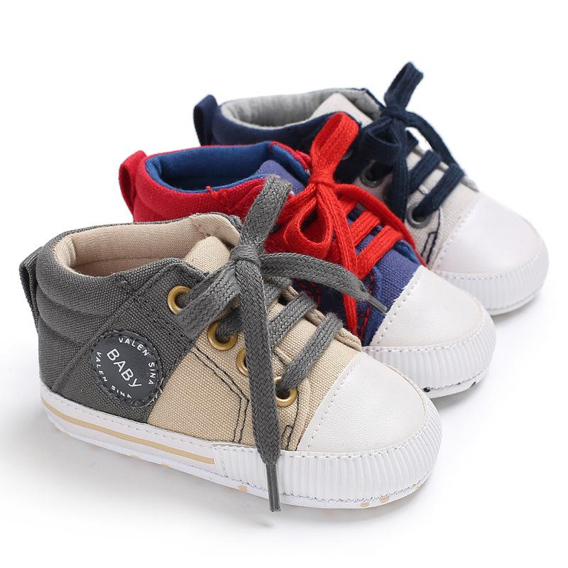 2020 Canvas Baby Boy Girls Shoes Design