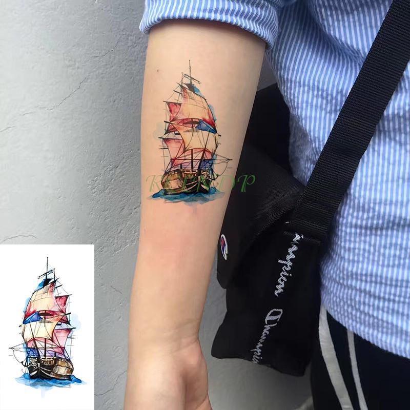 Acheter Bras Avion Impermeable Papier Tatouage Temporaire Autocollant Noir Faux Tatto Flash Tatoo Main Jambe Tatouages Dos Pour Hommes Femmes Enfants De 28 84 Du Beasy113 Dhgate Com