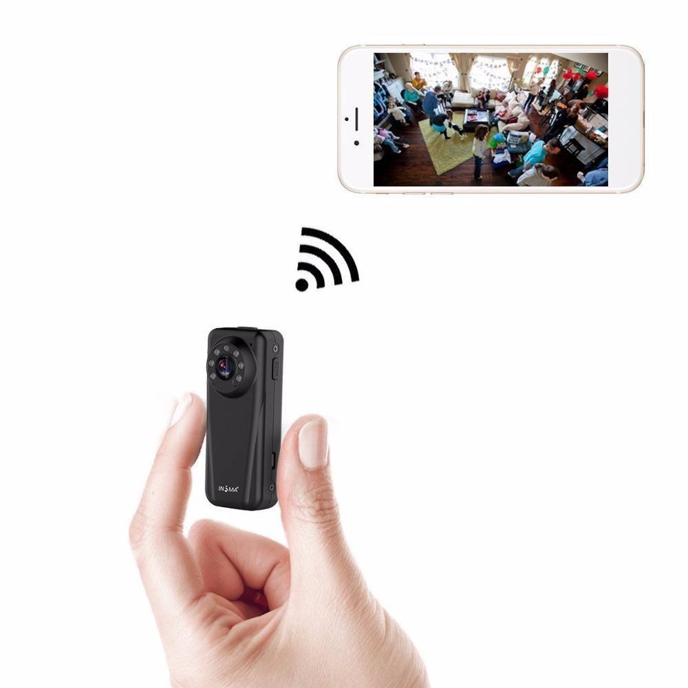 WiFi Minikamera 1080P IP-Mikrokamera Infrarot-Nachtsicht Mini Sports DV Kamera Loop-Videorecorder Unterstützung 64G Micro SD-Karte
