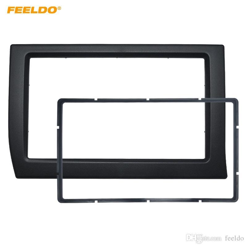 FEELDO Car 2Din Panel Cornice per Citroen Elysee 2006 Stereo Radio Dash Fitting Kit Installazione Cornice Cornice Face Frame Kit # 2231