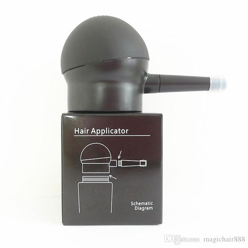 Спрей для черных волос Apllicator ABS материал Помощь Лак для волос Волокно Легко Завод Прямые Продажи Аксессуары Для Волос