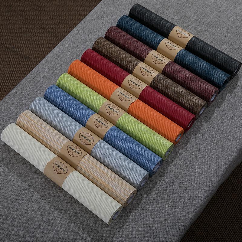 Waterproof Paper Tea Mat Net Color Table Runner Tea Cloth Tea Flag Coaster Insulation Pad Set Accessories Factory Direct Size Customizat