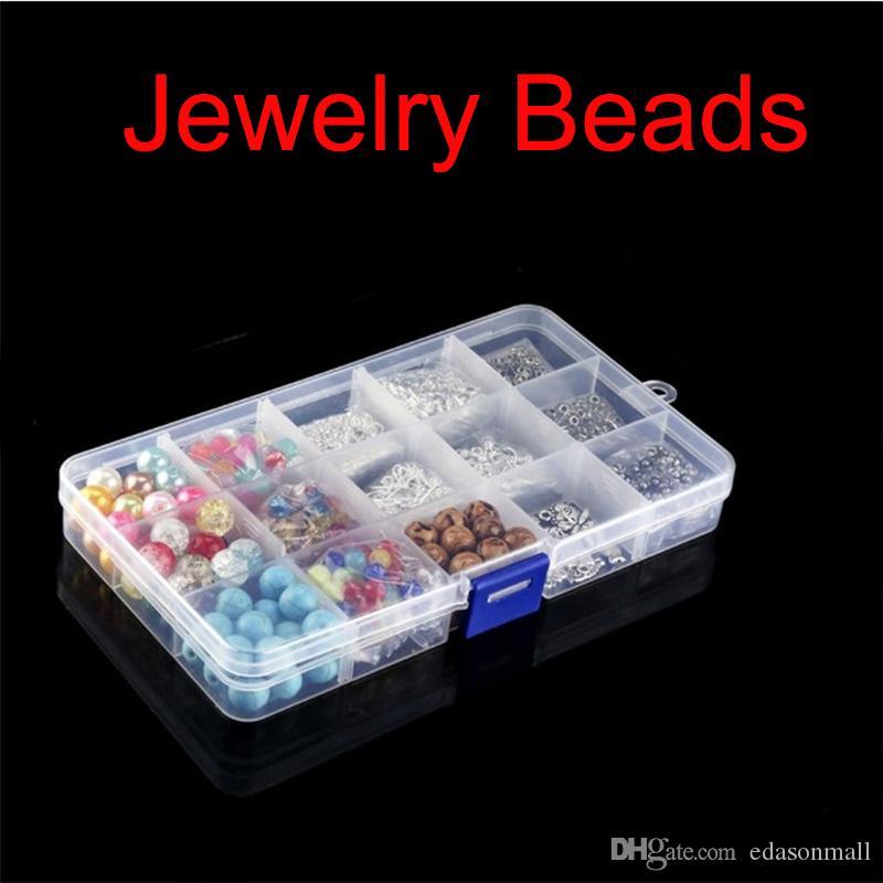 Résultats de bijoux Ensemble d'outils Fabrication de bijoux Ensembles crochet perles boucle d'oreille pour Fermoir Accessoires pour Bracelet Collier bricolage Jewlery réparation N72Y