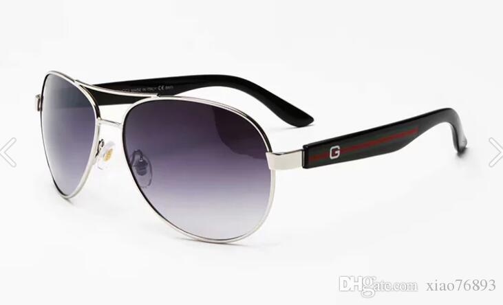 브랜드 남성용 빈티지 스퀘어 선글라스 렌즈 안경 액세서리 남성 선글라스 남성 여성 악어 2501