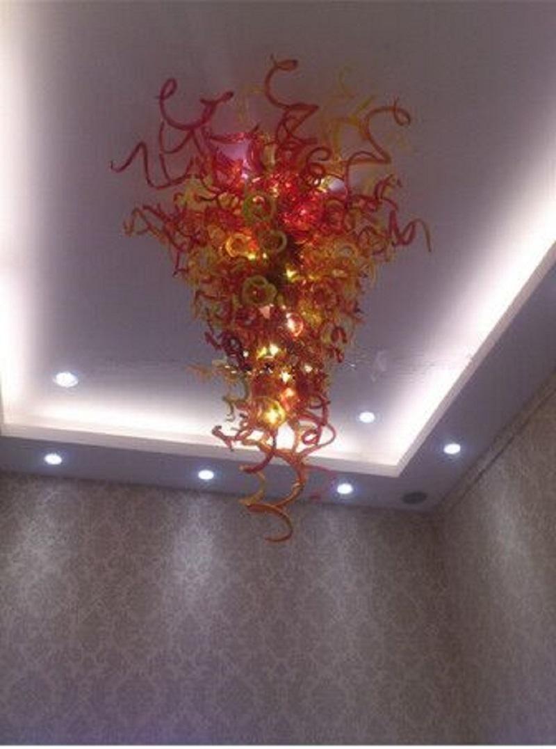 Blown italiana contemporánea LED lámpara de mano moderna de cristal Art Deco de la pared hábil diseño elegante lámpara de cristal de Murano