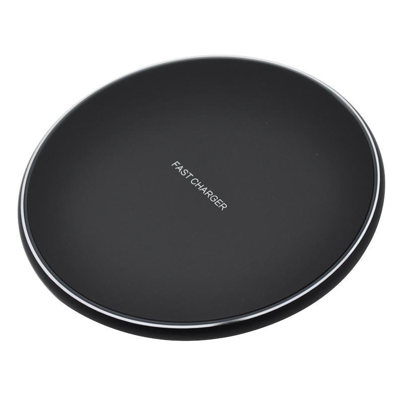 RDHT-KD-13 Qi 10W de charge sans fil Pad pour iPhone 11 Pro Max X XS Max XR Samsung Galaxy Note 10 Plus Chargeur sans fil