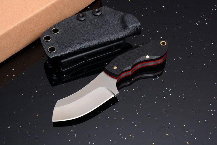 drop-shipping G10 ручка 9cr18mov лезвие полный Тан кемпинг на открытом воздухе охотничий нож подарочный нож EDC инструменты 1шт образец Бесплатная доставка