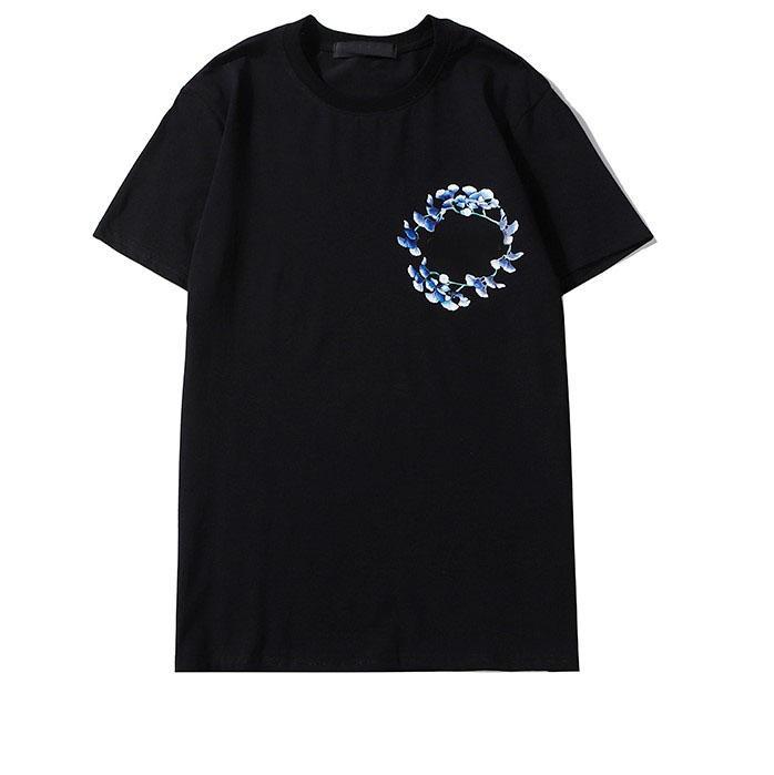 Mulheres rua Mens Fashion T-shirt Verão Marca camisas Designer T Shirt Luxo cervos Camisolas Camisas Casual Para Homens Mulheres Unisex 2020505Q