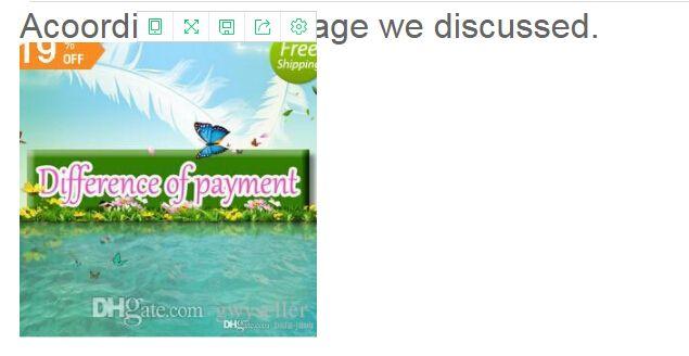 지불은 메시지에 Acoording 우리는 논의했다.