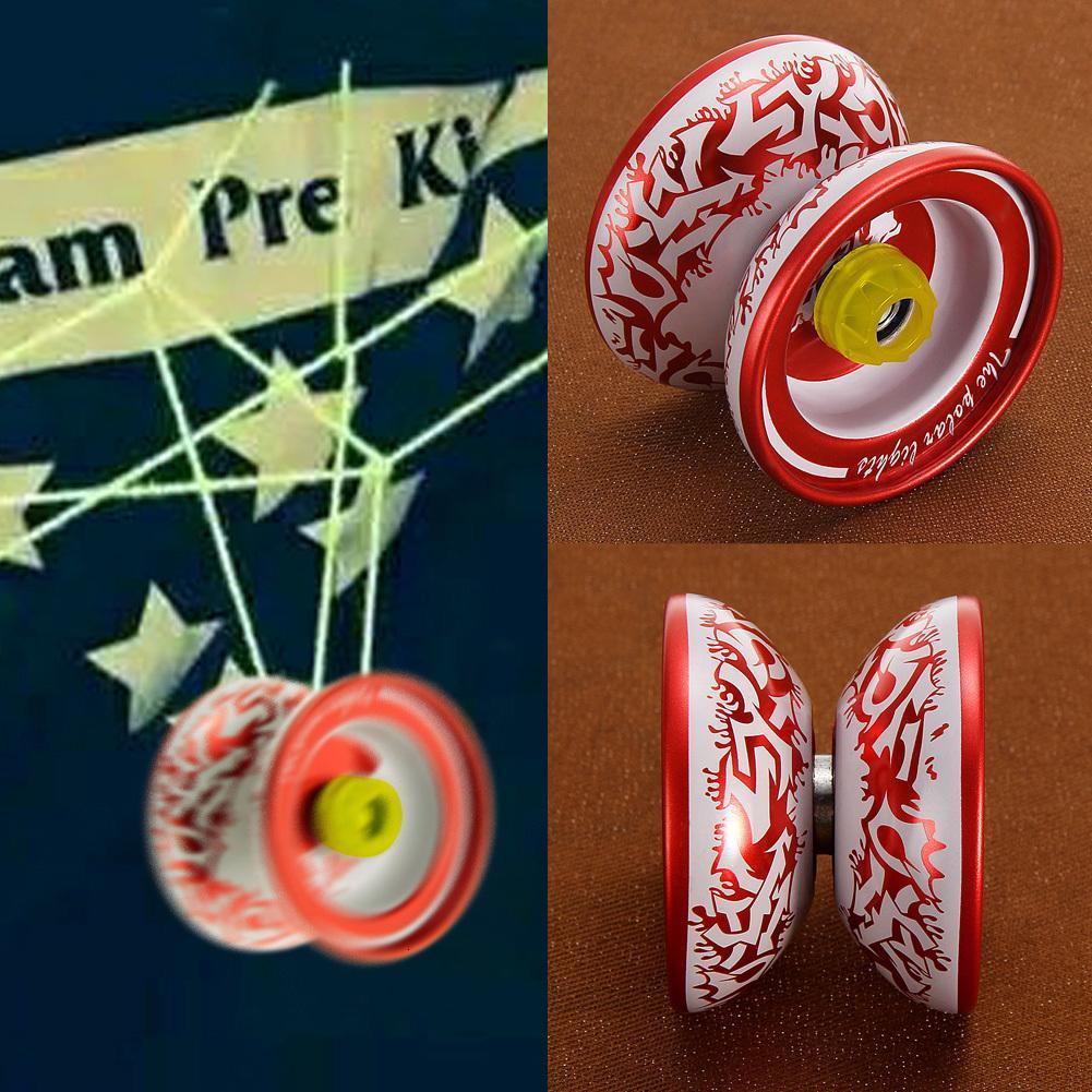 Смешать Оптовая 5 шт рук играть в мяч Высокое качество сплава металла Йойо Классический Детские игрушки Diabolo Magic Kids подарок