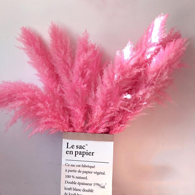 1pc naturel usine Reed Séché fleur pour soirée de mariage Décor bricolage fleur Matériaux arrangement