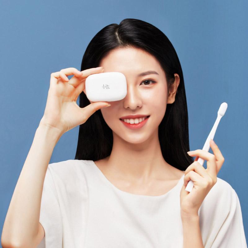 XIAOMI youpin Xiaoda فرشاة الأسنان التطهير صندوق معقم حالة UVC التعقيم المحمولة USB إتهام المنزل الذكي من Youpin
